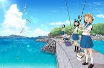 钓鱼的乐趣,本就是无论大叔还是女子高中生都可以享受的