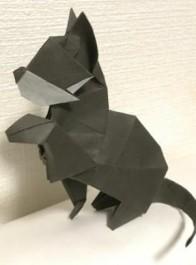日本折纸达人网上晒作品,让我想起那部叫《折纸战士》的漫画