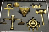 有人用3D打印,把《游戏王》里的千年神器做出来了