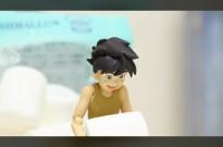 定格动画篠原健太新作:未来少年柯南激战棉花糖