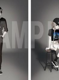 《刀剑神域》10周年要推出联动T恤,这两口子有点帅啊