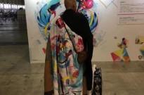 日本网友偶遇穿着初音法披的和尚,真正的佛系二次元了