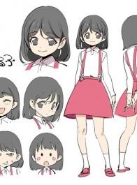 当樱桃小丸子变成少女系画风,我感觉最可爱的不是小丸子而是她