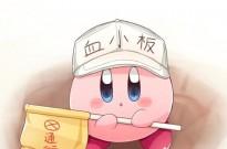 日本网友画了个星之卡比血小板,还做成了咖啡拉花