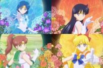 剧场版动画《美少女战士Eternal》前篇新PV 4战士齐变身超美