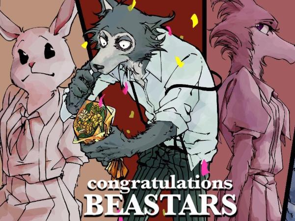 《BEASTARS》动画角色图公开,有粉丝吐槽画风太软,我感觉还好