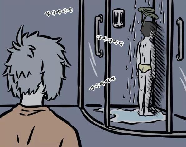 非人哉漫画透露哪吒小秘密:洗澡穿内裤,经常要补水?