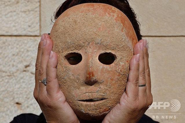 国外考古挖出9000年前的石假面,网友吐槽:是JOJO哒!