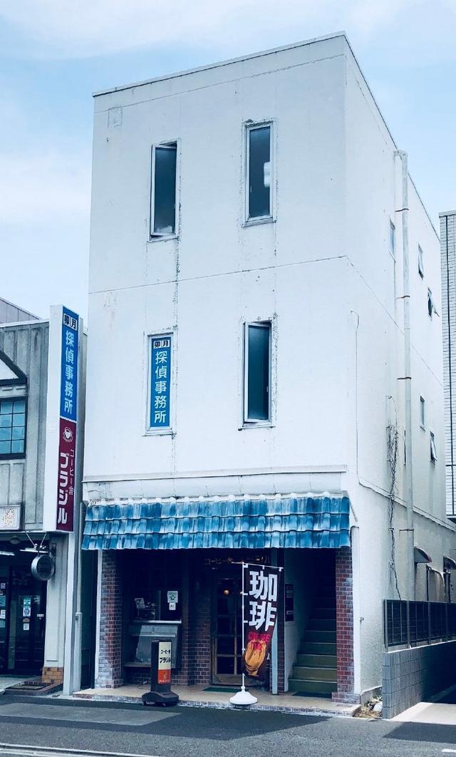 日本网友吐槽:发现一家下面是咖啡馆,上面是侦探事务所的建筑