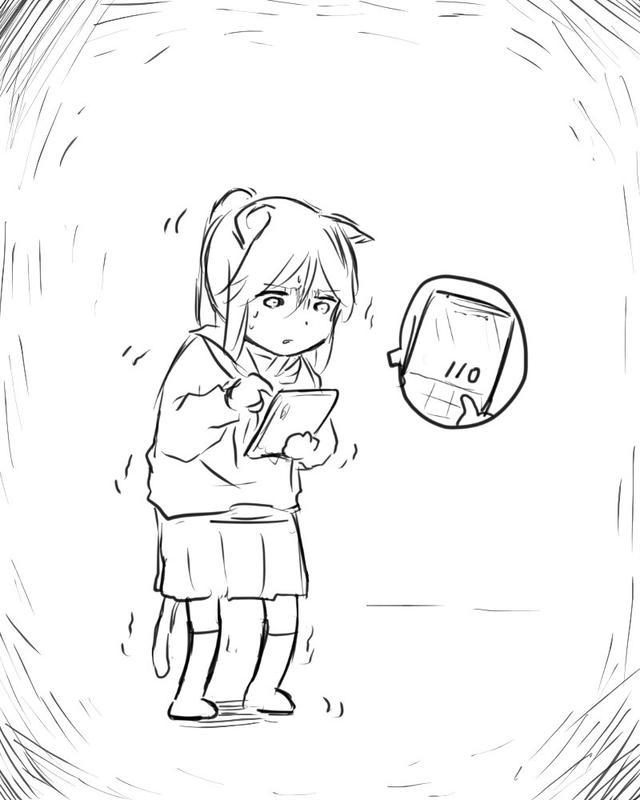 画师画出了和猫咪女儿的日常,作品背后其实是一部京阿尼动画电影