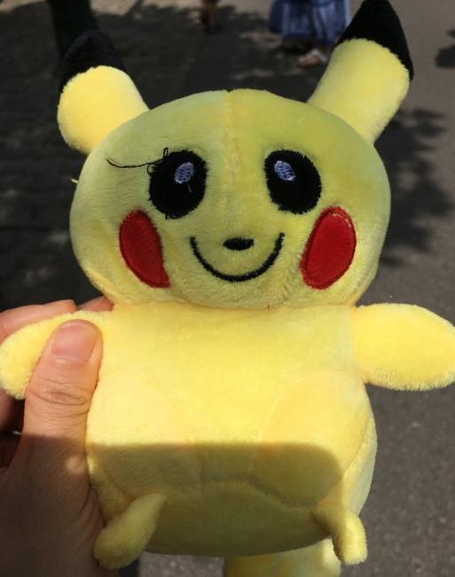 日本网友分享自己看到过的奇葩皮卡丘,这些造型也太奇怪了吧