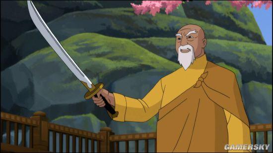 动画电影《蝙蝠侠:龙之魂》曝光新片段 武术大师向学生介绍名刀