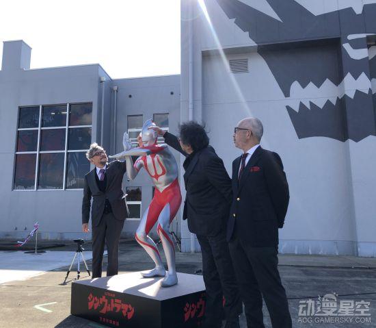 庵野秀明《新·奥特曼》雕像公开 形似抠了灯的初代