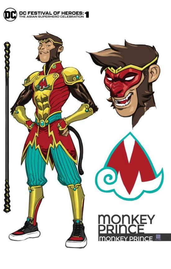 """DC推出美猴王超级英雄""""猴王子""""!还有猪八戒登场"""