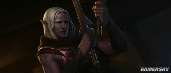 《龙与地下城》新动画短片:崔斯特·杜垩登担当主角、卷福为旁白配音