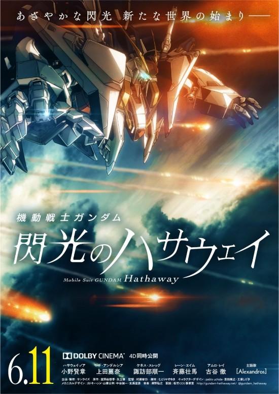 《高达:闪光的哈萨维》新上映日确定 6月日本上映