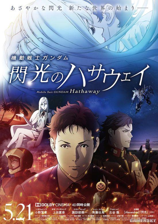 上海电影节将播映高达系列 《闪光的哈萨维》在列