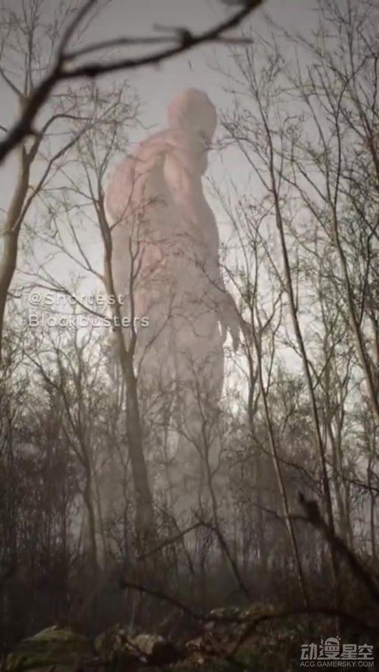 艺术家制作超真实巨人视频 沉浸视角感受进击的巨人