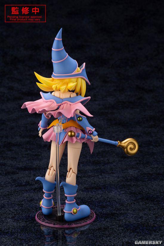 寿屋《游戏王》黑魔导女孩拼装模型图片公开 武藤游戏的最爱