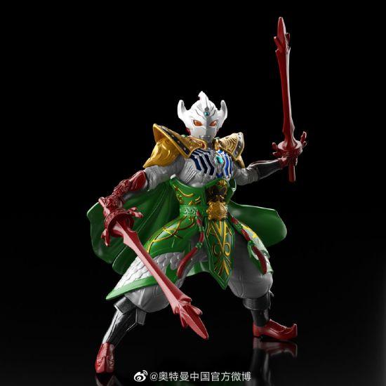 《奥特曼英雄传》新形象:刘备·泰迦和张飞·风马