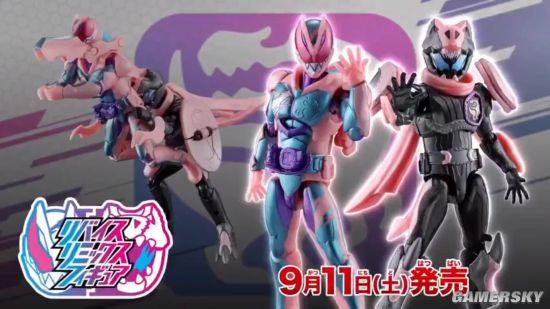 万代公布《假面骑士REVICE》腰带与手办开售片 两骑士合体成为暴龙形态