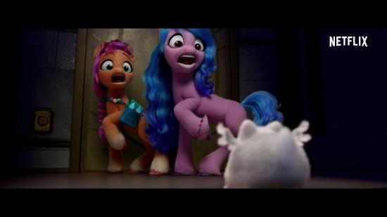 网飞动画电影《小马宝莉:新世代》新预告:当独角兽闯入马儿的生活
