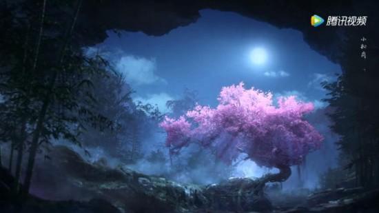 《诛仙》动画版预告公布 绝美三尾妖狐泪眼婆娑