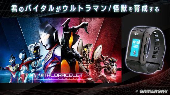 奥特曼和假面骑士推出数码兽同款运动手环 买新卡换角色